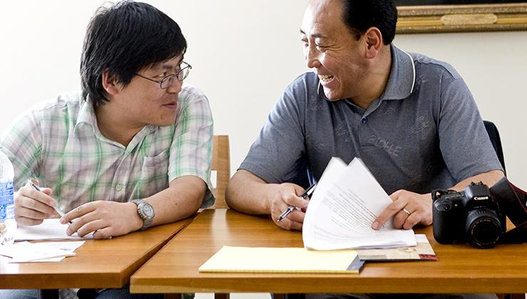 Tibetan Leaders University of Virginia
